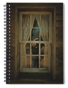 The Girl In The Window  Spiral Notebook