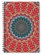 The Girl With Kaliedoscope Eyes Spiral Notebook