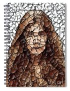 The Girl With No Face Spiral Notebook