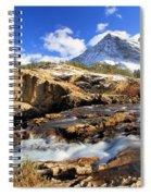 The Glacier Rush Spiral Notebook