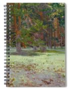 The Glade Covered With A Moss Spiral Notebook