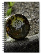 The Glass Jar From The Tsunami Spiral Notebook