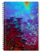 The Glimmering Deep Spiral Notebook