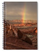 The Glory Of Sandstone Spiral Notebook