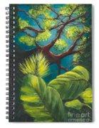 The Goblin Market Restaurant Tree Mt. Dora Spiral Notebook