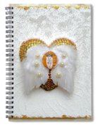 The Goddess Of The Golden Temple Spiral Notebook