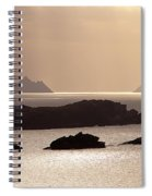 The Gold Skelligs Spiral Notebook