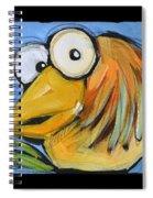 The Goldbird Trio Spiral Notebook