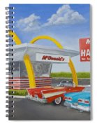 The Golden Age Of The Golden Arches Spiral Notebook