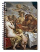 The Golden Apple Of Discord Spiral Notebook