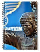 The Golden Brett Spiral Notebook