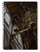 The Golden Chandelier  Spiral Notebook