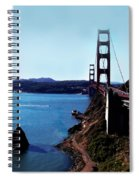 The Golden Gate Bridge Spiral Notebook
