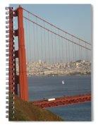 The Golden Gate Spiral Notebook