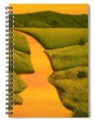 The Golden Hour Spiral Notebook