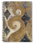 The Golden Ornaments Spiral Notebook
