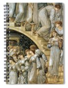 The Golden Stairs Spiral Notebook
