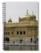 The Golden Temple In Amritsar Spiral Notebook