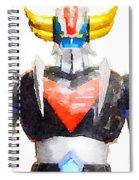 The Goldorak Spiral Notebook