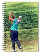 The Golf Swing Spiral Notebook