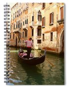 The Gondolier Spiral Notebook
