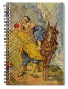 The Good Samaritan - After Delacroix Spiral Notebook