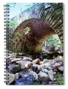 The Gorge Trail Stone Bridge Spiral Notebook