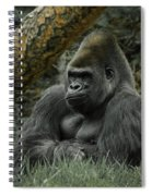 The Gorilla 3 Spiral Notebook