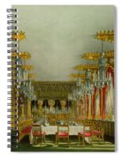 The Gothic Dining Room At Carlton House Spiral Notebook