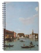 The Grand Canal And San Geremia, Venice, 18th Century Spiral Notebook