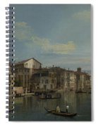 The Grand Canal In Venice Spiral Notebook
