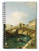 The Grand Canal   Venice Spiral Notebook