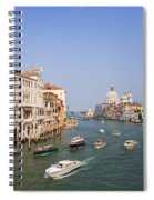 The Grand Canal, Venice Spiral Notebook