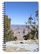 The Grand Canyon In January Spiral Notebook