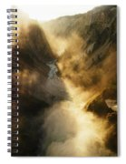The Grand Canyon Of Yellowstone Spiral Notebook