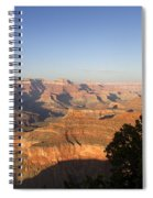 The Grand Canyon Towards Sunset Spiral Notebook