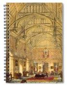 The Grand Hall, Biddington, Surrey Spiral Notebook