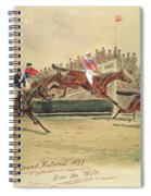 The Grand National Over The Water Spiral Notebook