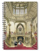 The Grand Staircase, Windsor Castle Spiral Notebook