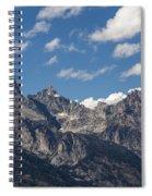 The Grand Tetons - Grand Teton National Park Wyoming Spiral Notebook