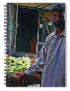 The Grapes Man Spiral Notebook