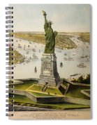The Great Bartholdi Statue Spiral Notebook