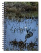 The Great Blue Calm Spiral Notebook