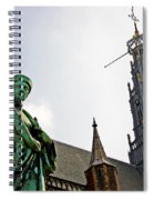 The Great Church Of Haarlem Spiral Notebook