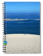 The Great Dune Of Pila In Arcachon Bay Spiral Notebook