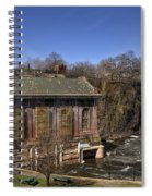 The Great Falls In Paterson Spiral Notebook