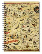 The Great Lakes State Spiral Notebook