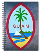 The Great Seal Of Guam Territory Of Usa  Spiral Notebook