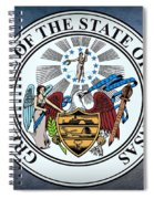 The Great Seal Of The State Of Arkansas Spiral Notebook