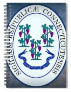 The Great Seal Of The State Of Connecticut Spiral Notebook